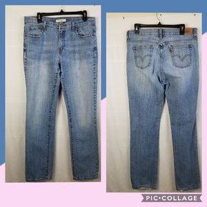Levi's 505 Straight Leg Jean's women's 12 long